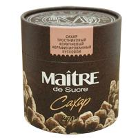 Тростниковый сахар коричневый 270х6 нерафинированный кусковой